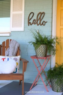 Front Porch Valentines Day Decor With LOVE Word 18