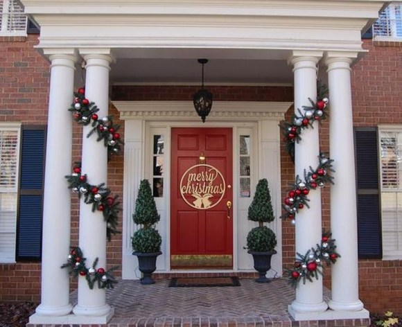Front Porch Valentines Day Decor With LOVE Word 32