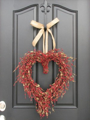 Front Porch Valentines Day Decor With LOVE Word 40