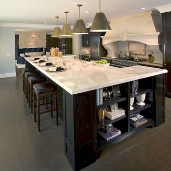 Kitchen Island Design Ideas With Marble Countertops 06