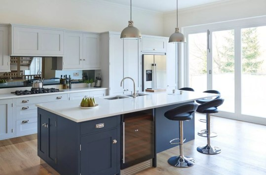 Kitchen Island Design Ideas With Marble Countertops 36