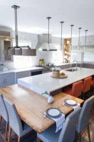Kitchen Island Design Ideas With Marble Countertops 41