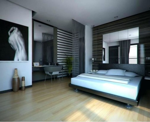 Luxury Modern Man Bedroom Design Ideas 08