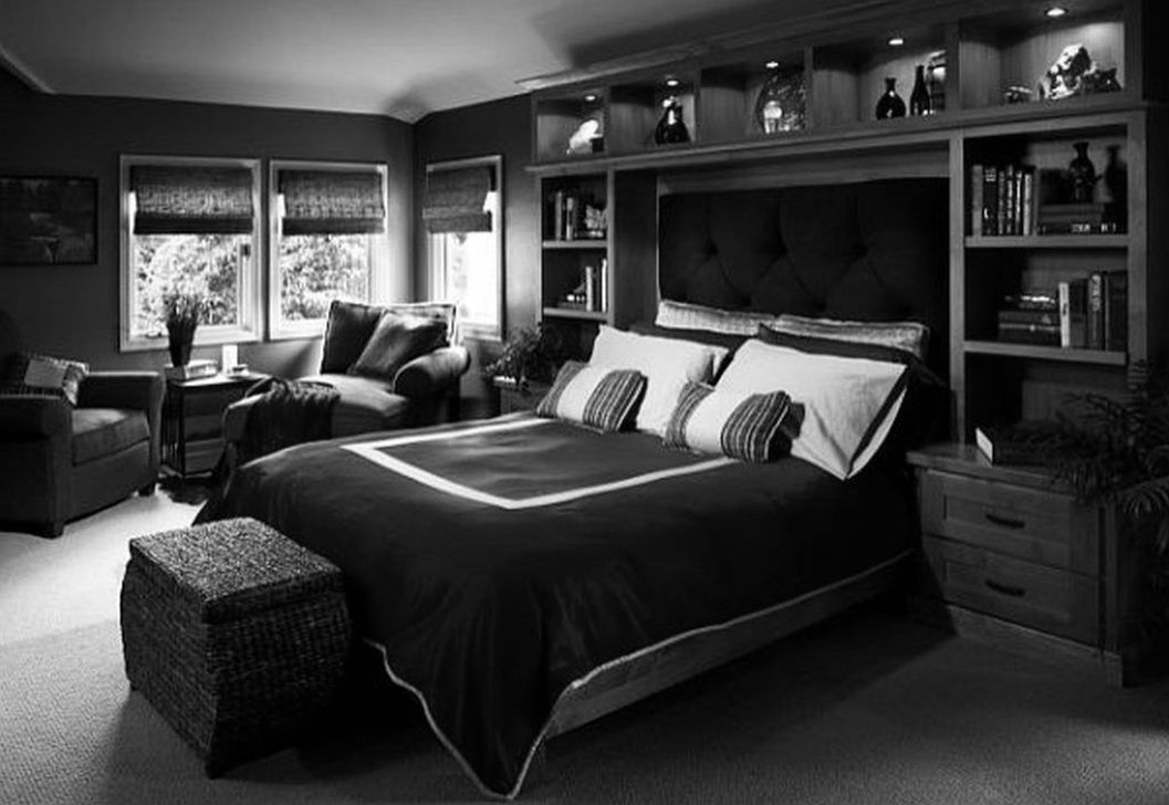 Luxury Modern Man Bedroom Design Ideas 17