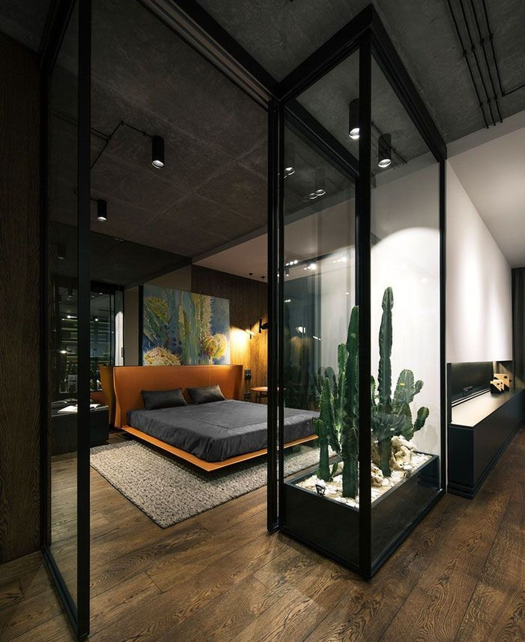 Luxury Modern Man Bedroom Design Ideas 23