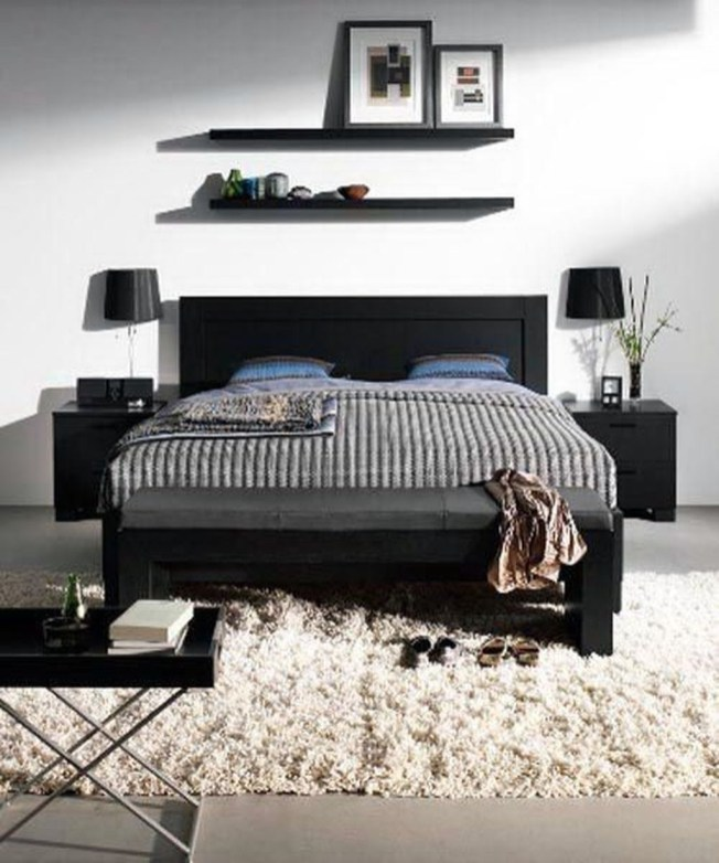 Luxury Modern Man Bedroom Design Ideas 29