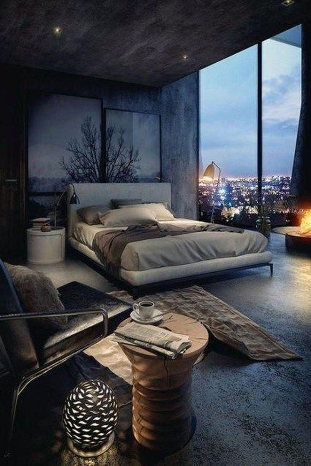Luxury Modern Man Bedroom Design Ideas 38