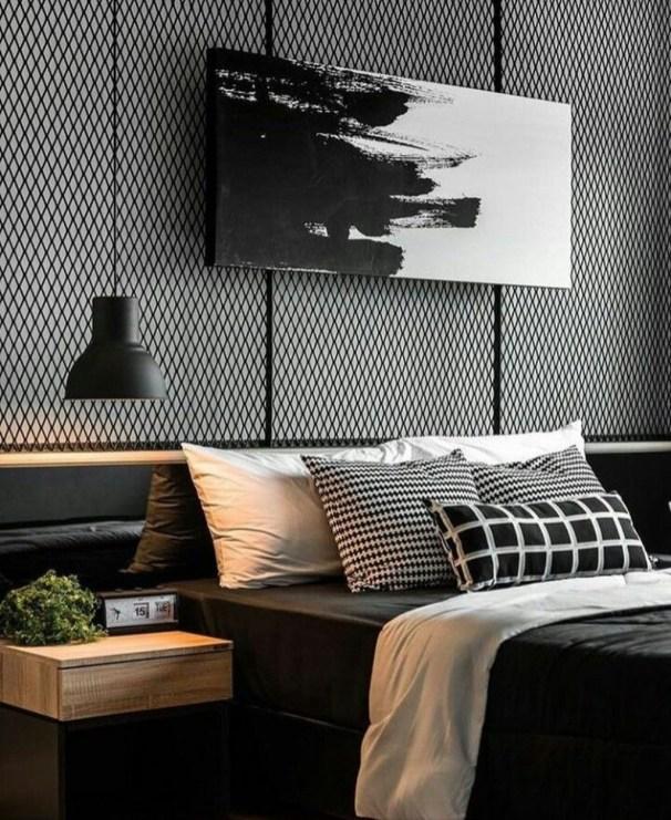 Luxury Modern Man Bedroom Design Ideas 44