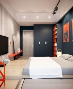 Luxury Modern Man Bedroom Design Ideas 45