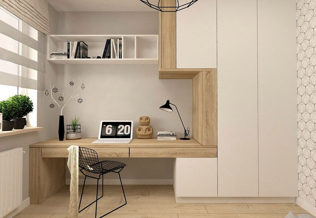 Modern Home Office Idea That Easily Implemented 15