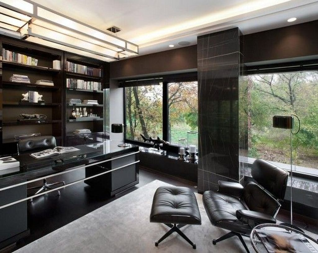 Modern Home Office Idea That Easily Implemented 26