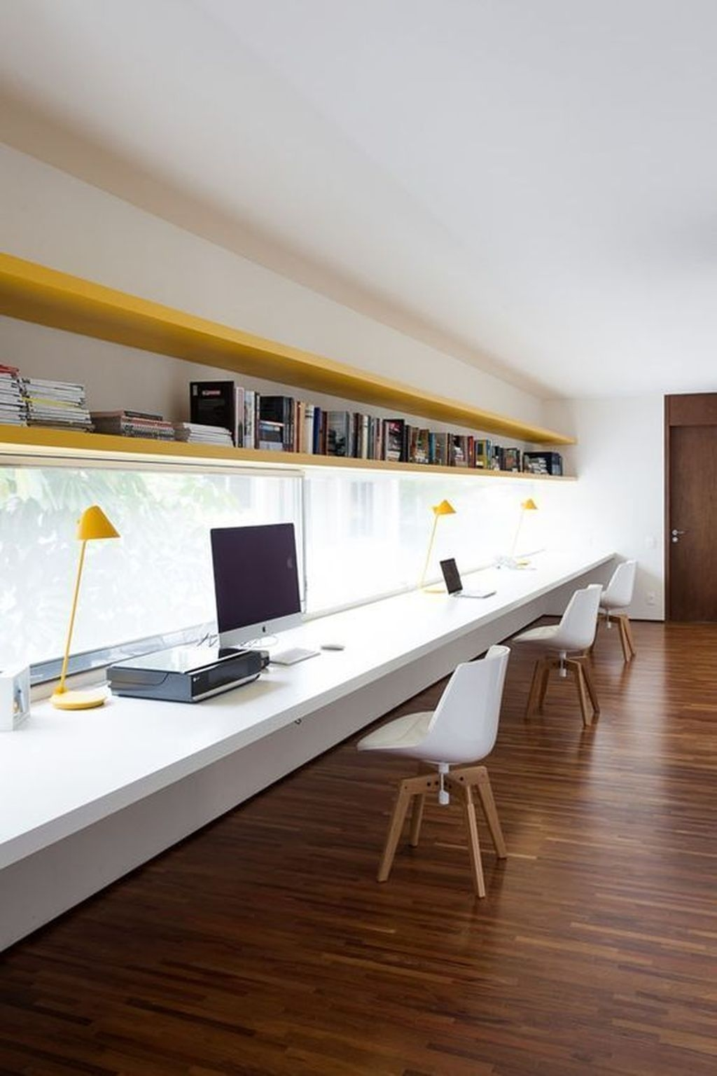 Modern Home Office Idea That Easily Implemented 39
