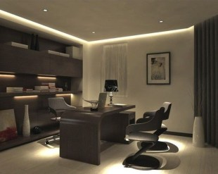 Modern Home Office Idea That Easily Implemented 43