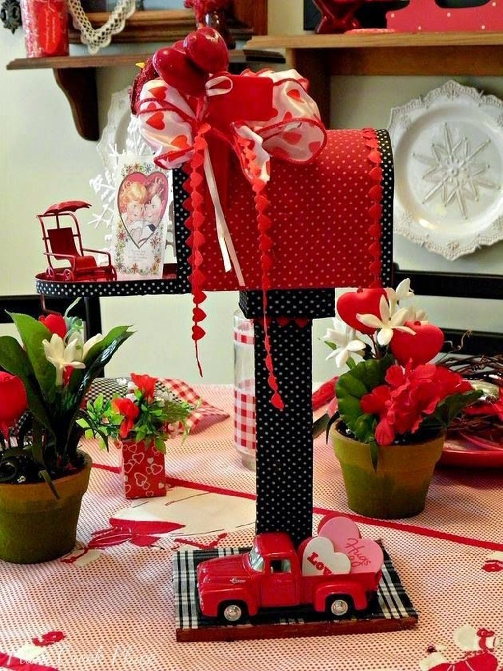 Nice Ideas For Best Valentines Day Centerpieces 15