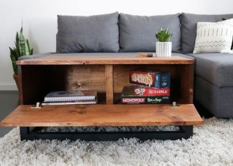 Nice Looking DIY Coffee Table 03