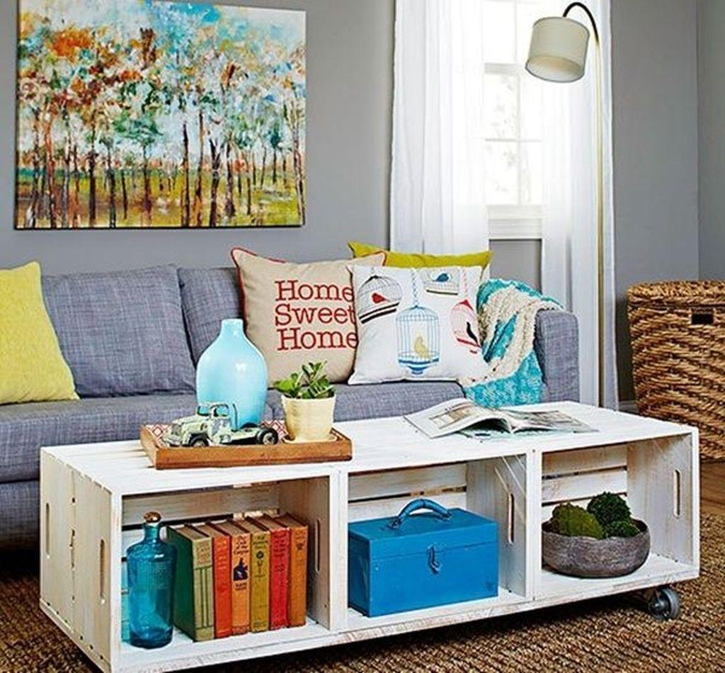Nice Looking DIY Coffee Table 08