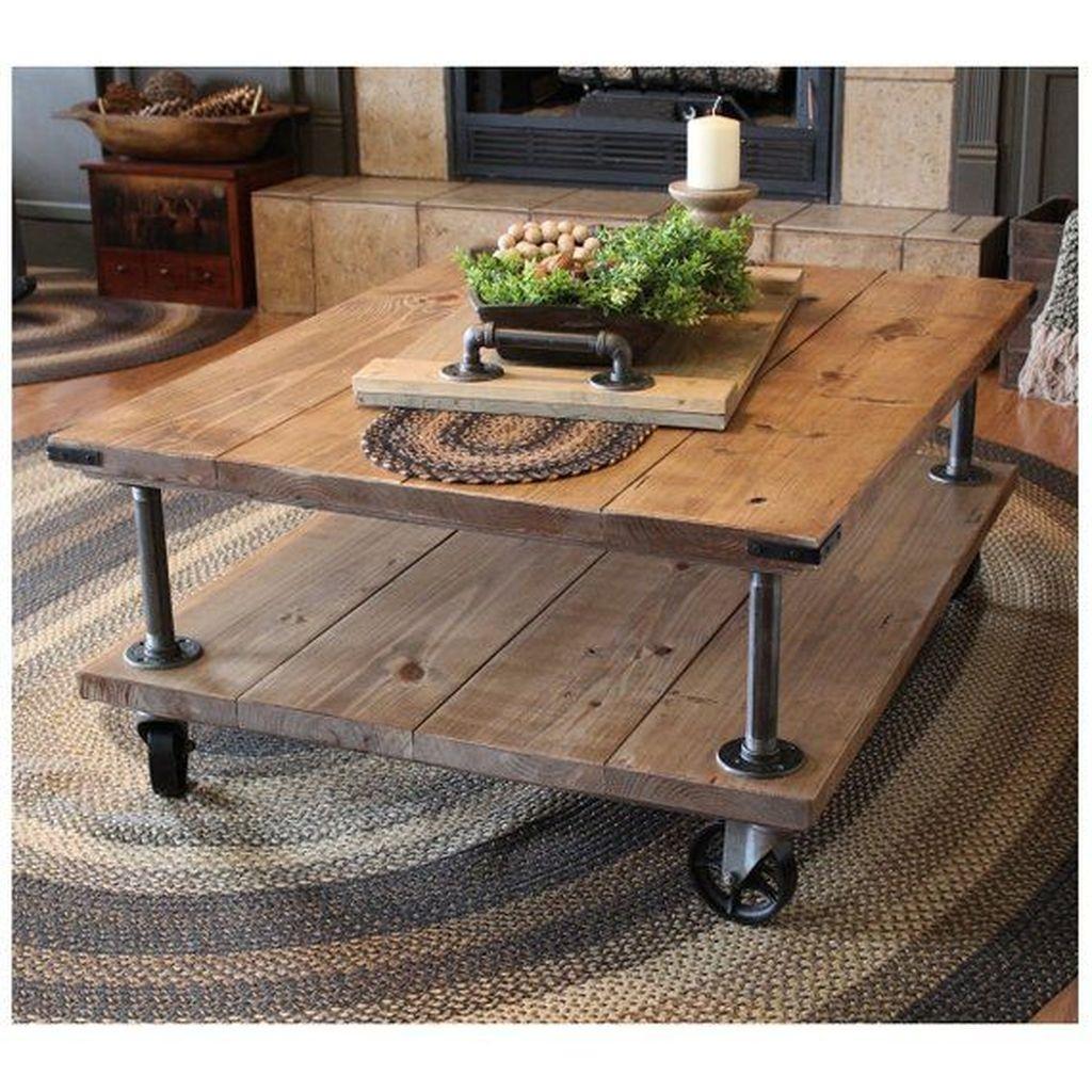 Nice Looking DIY Coffee Table 09