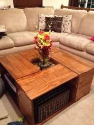 Nice Looking DIY Coffee Table 11