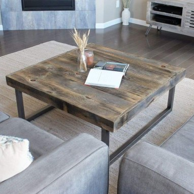 Nice Looking DIY Coffee Table 17
