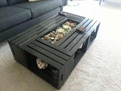 Nice Looking DIY Coffee Table 20