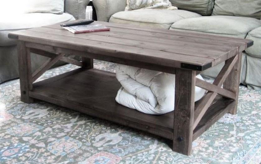 Nice Looking DIY Coffee Table 22
