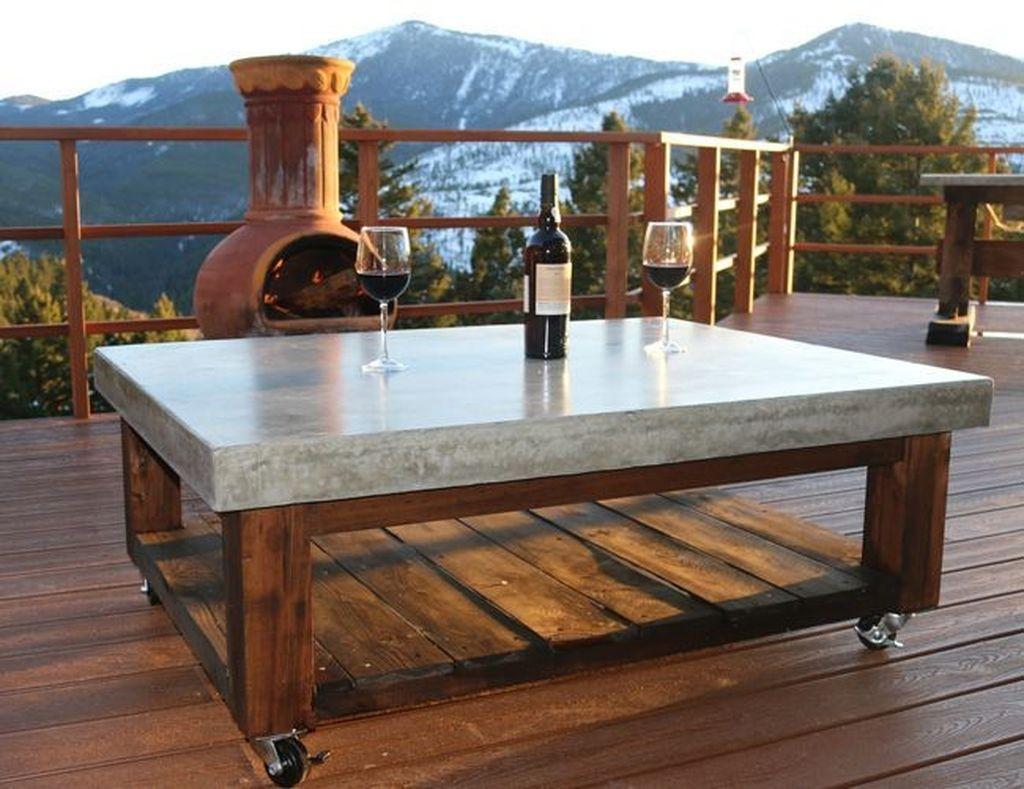 Nice Looking DIY Coffee Table 24