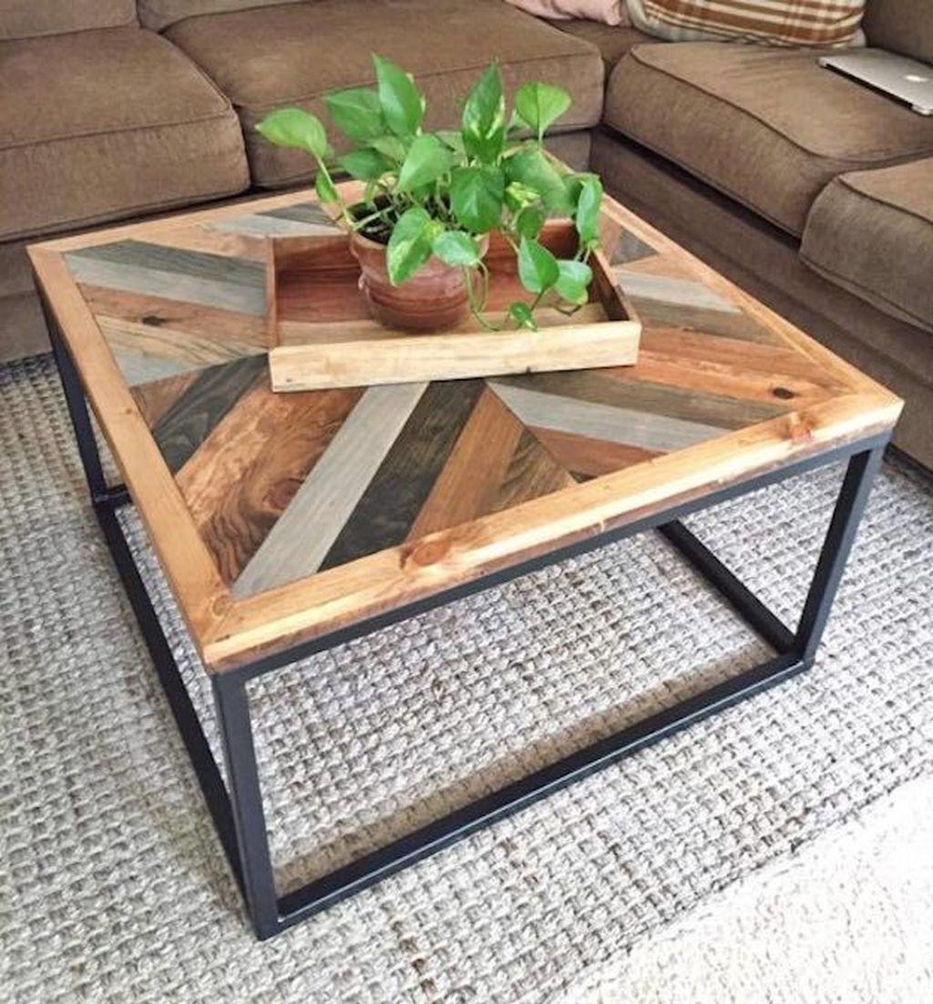 Nice Looking DIY Coffee Table 29