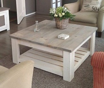 Nice Looking DIY Coffee Table 46