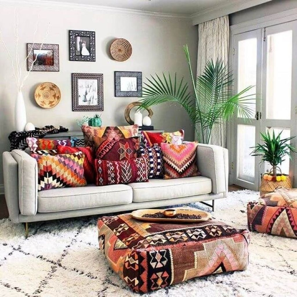 Perfectly Bohemian Living Room Design Ideas 09