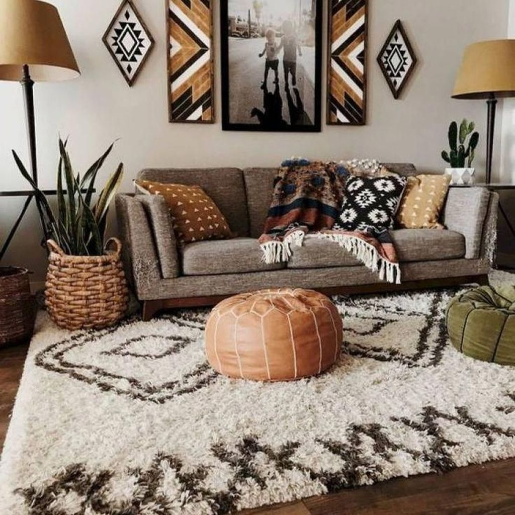 Perfectly Bohemian Living Room Design Ideas 12