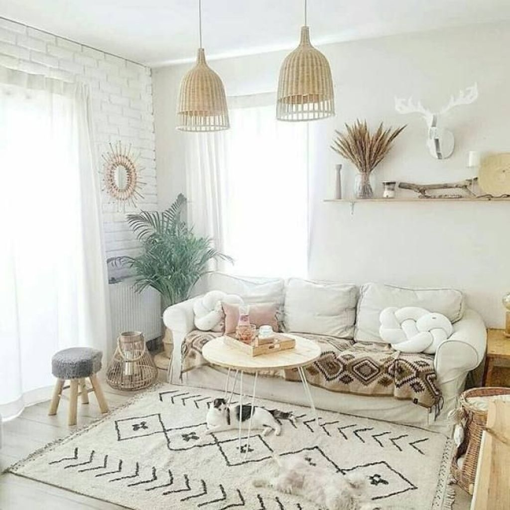 Perfectly Bohemian Living Room Design Ideas 13