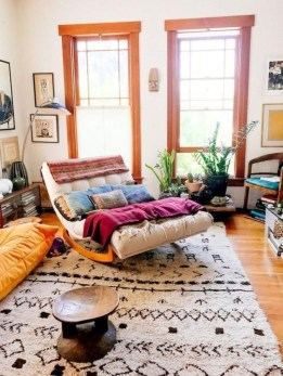 Perfectly Bohemian Living Room Design Ideas 43