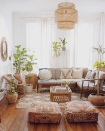 Perfectly Bohemian Living Room Design Ideas 45
