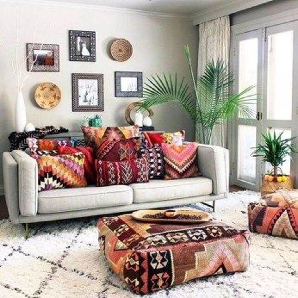 Perfectly Bohemian Living Room Design Ideas 49
