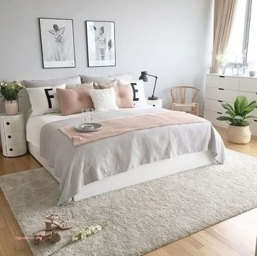 Pink Bedroom Decor You Can Try On Your Own 25
