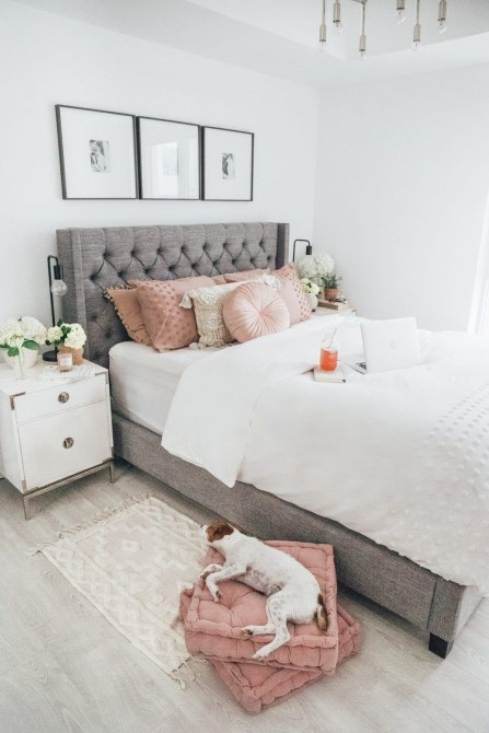 Pink Bedroom Decor You Can Try On Your Own 50