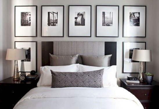 Small Master Bedroom Design With Elegant Style 08