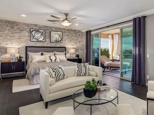 Small Master Bedroom Design With Elegant Style 42