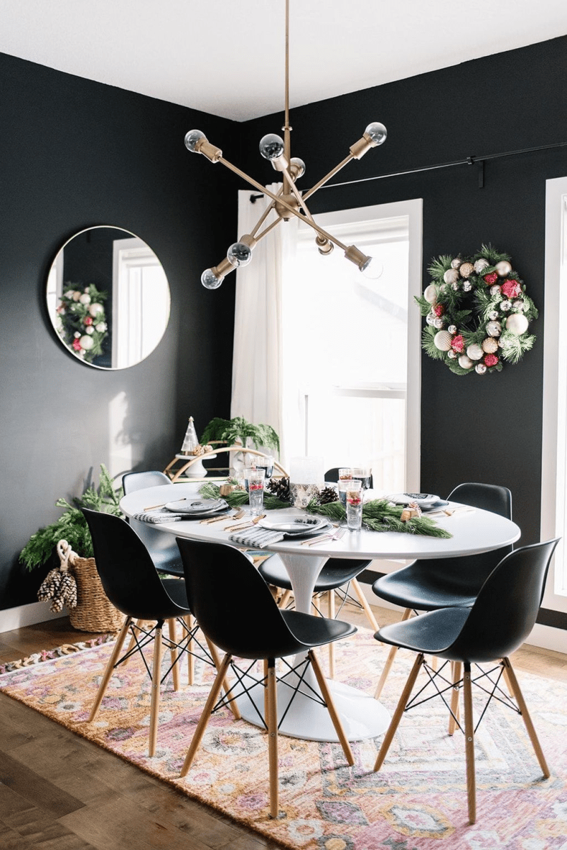 Stunning Modern Black Home Decor 01