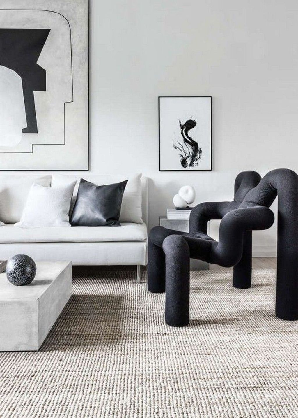 Stunning Modern Black Home Decor 03