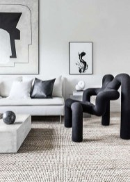 Stunning Modern Black Home Decor 03