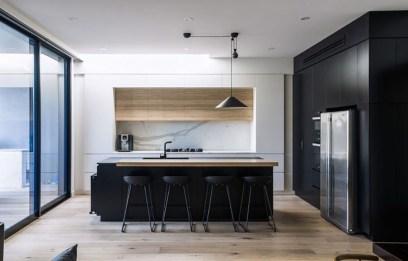 Stunning Modern Black Home Decor 04
