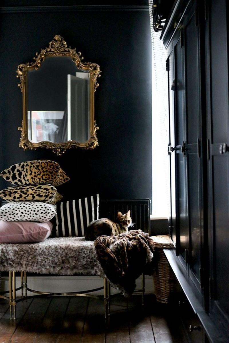 Stunning Modern Black Home Decor 05