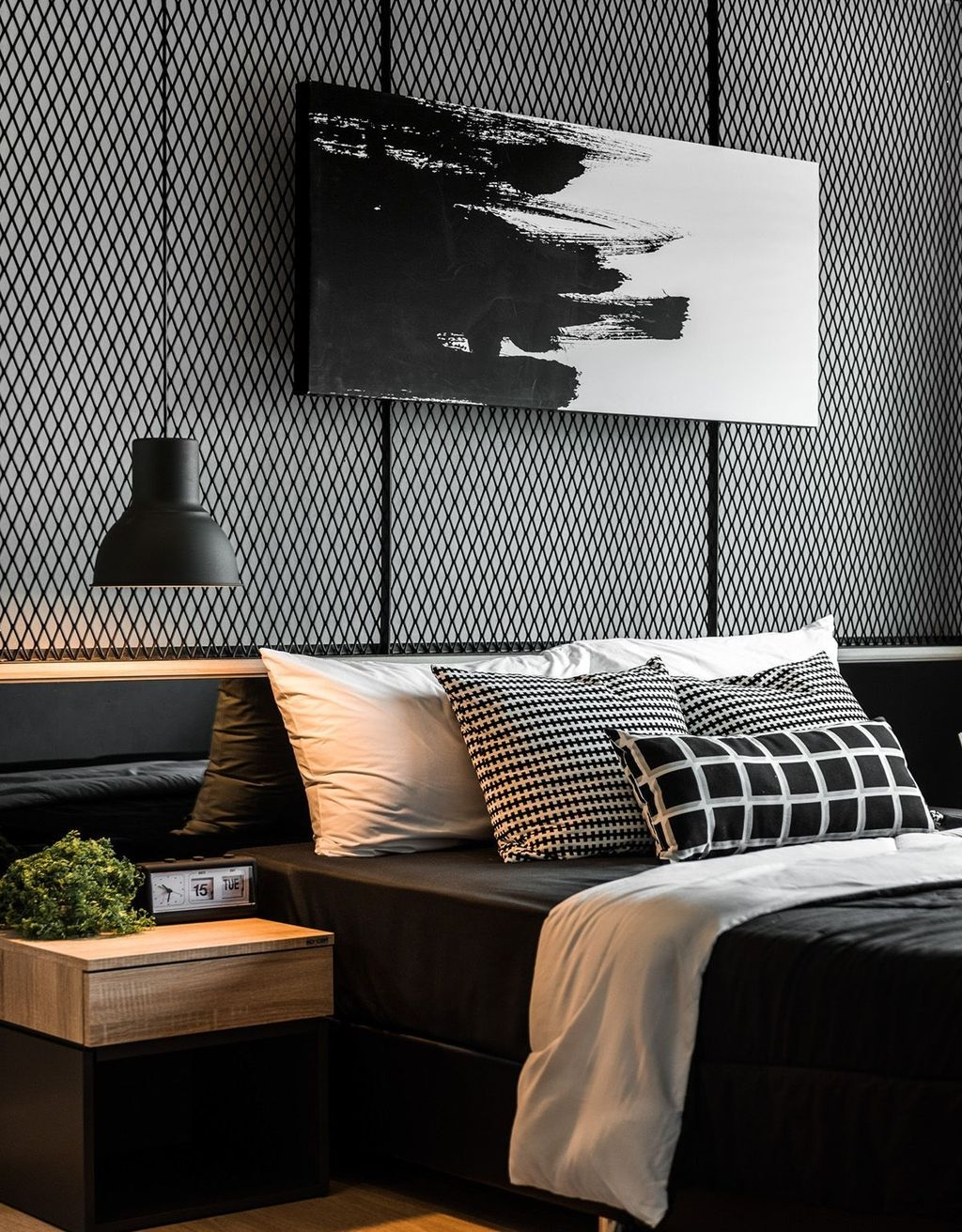 Stunning Modern Black Home Decor 06