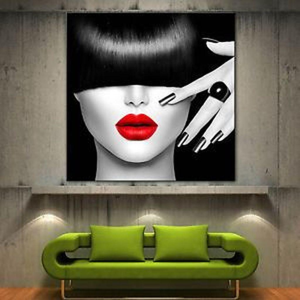 Stunning Modern Black Home Decor 26