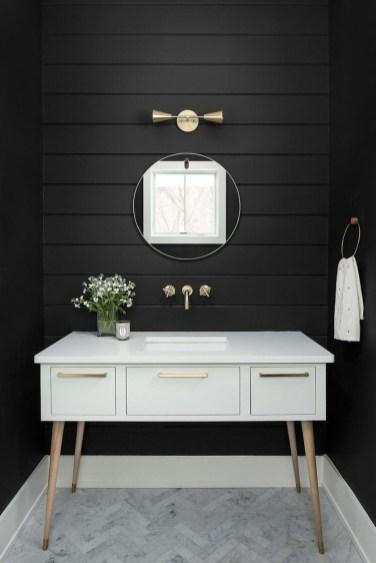 Stunning Modern Black Home Decor 44