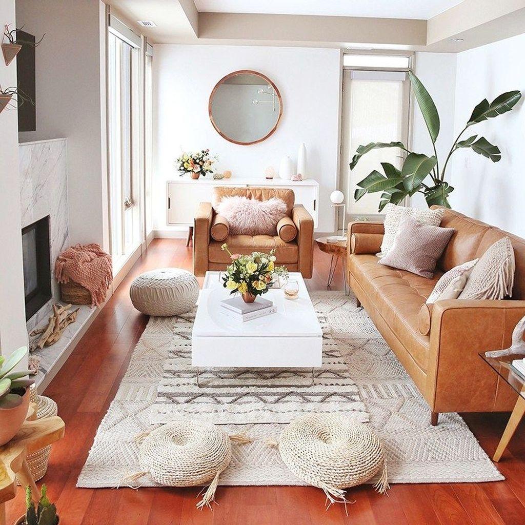 Stunning Modern Mid Century Living Room Design 11