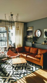 Stunning Modern Mid Century Living Room Design 13