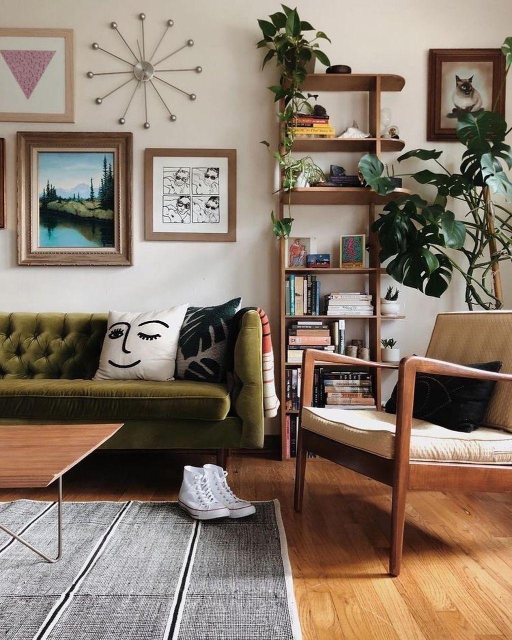 Stunning Modern Mid Century Living Room Design 14