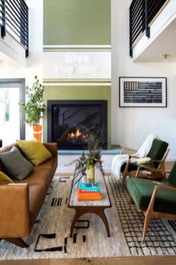 Stunning Modern Mid Century Living Room Design 22